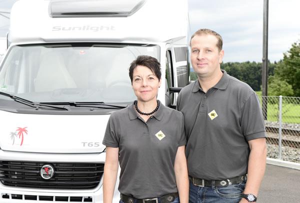 Inhaber Peter Käser und Geschäftsführerin Luisa Käser