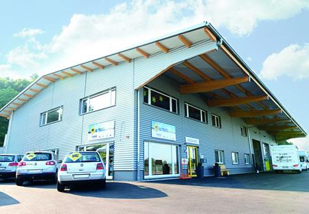 Käser Camping AG in Bischofszell - Shop und Garage