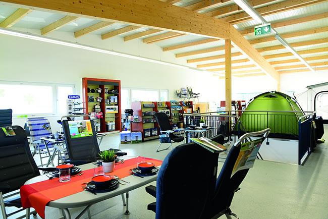 Unser Shop in Bischofszell für Camping Zubehör