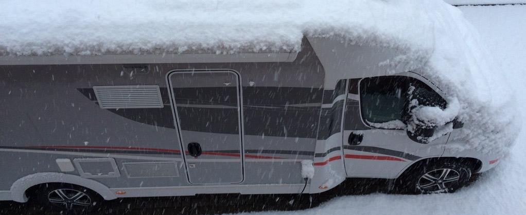 Tipps und Tricks, wie Sie ihr Wohnmobil wintersicher machen
